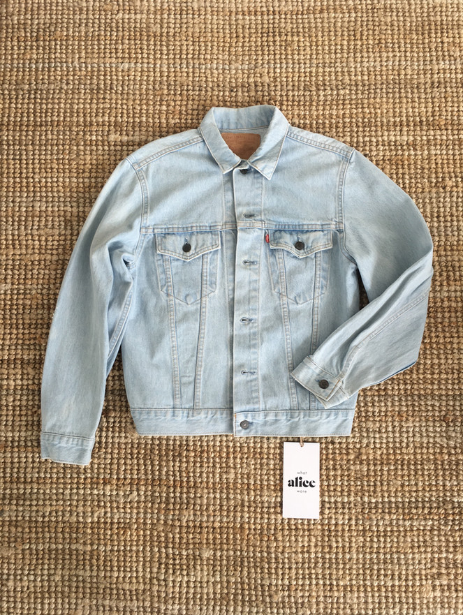 Vintage Levis and Wrangler Denim Jackets, ready for you to personalise