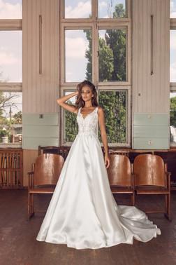 Liri Bridal Lucia A-Line Satin Gown