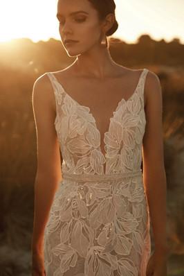 Zavana Desert Rose Statement Wedding Gown