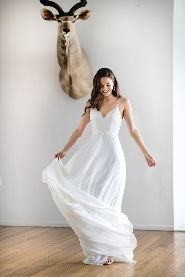 Cassia Simply Perfect ALine Gown
