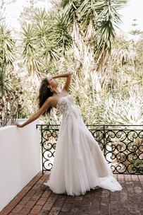 Zavana Bridal Tulle Gown