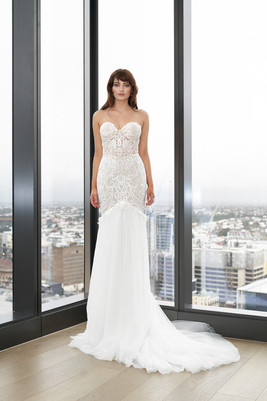 Cizzy Dee Strapless Mermaid Gown