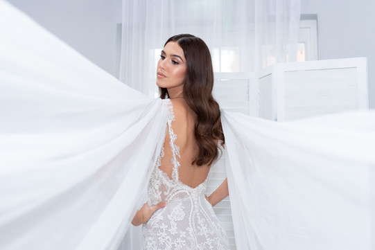 Tulle Wing Gown