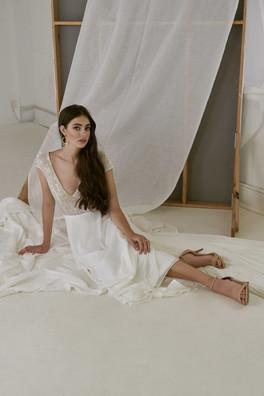 Cizzy Bridal Australia Sequin A-Line Gown