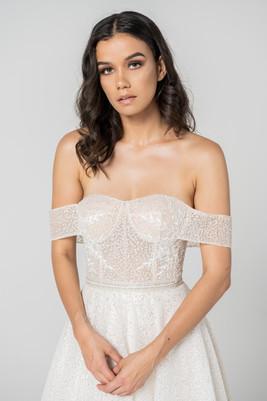 Full sparkle Cizzy Ballgown