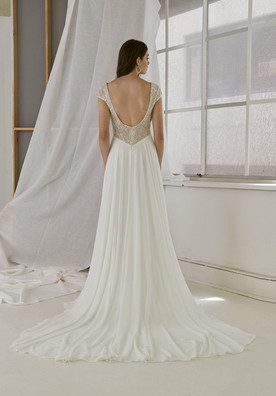 Cizzy Bridal A-Line Sequin Gown