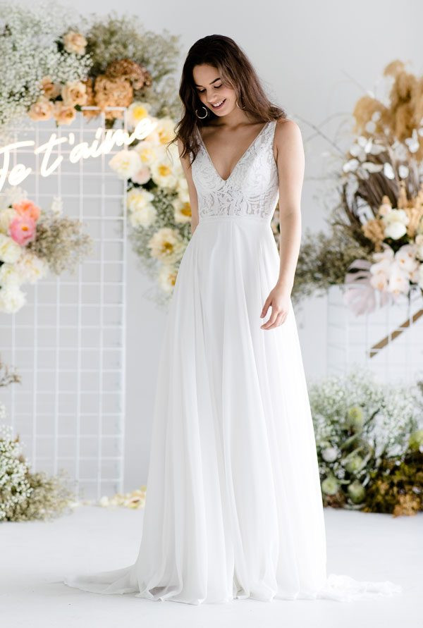 Pixie ALine Wedding Dress