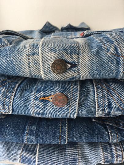 Vintage Denim Jackets make the perfect Bridal Accessory