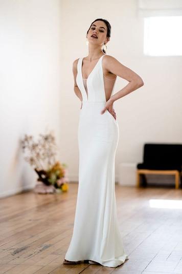 Viola Plunge Dress