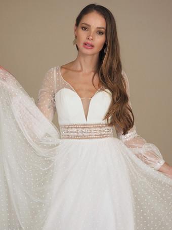 GAIA Bridal Sorrento Dot Gown
