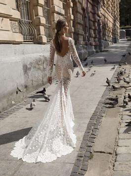 Liri's Jess Illusion Mermaid Gown