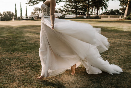 Zavana Bridal Featherlight A-Line Ornate Bodice Gown