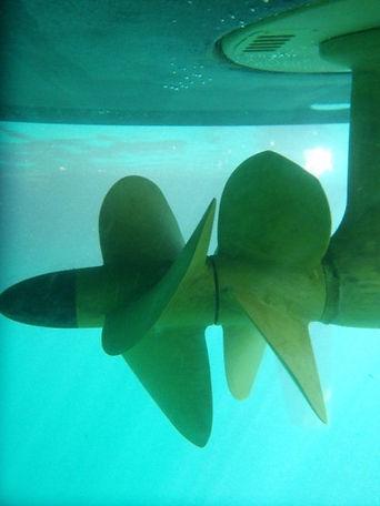 Bowline Marine Propeller Clean