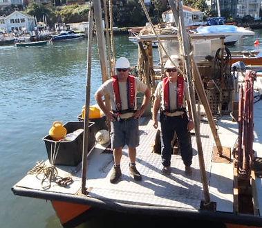 Bowline Marine Mooring Barge Crew