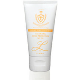 Clear Zinc Solar Protection, SPF 30 (w/ Light Tint Silicon)