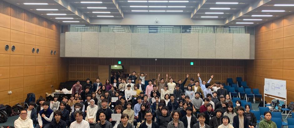 建築文化週間ワークショップ「令和元年の建築系研究室」に参加しました