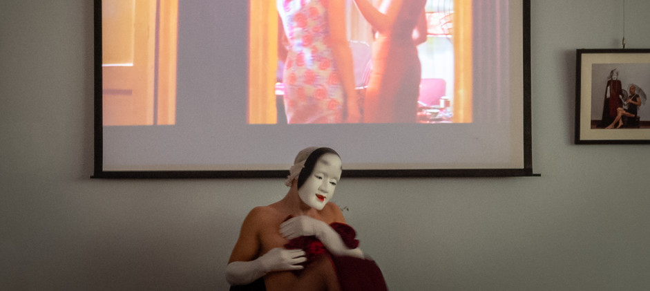 Qipao Butoh Performance at the Mexican Consulate in Guangzhou, China (June 2019)
