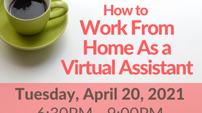 Register: How to Work From Home as a Virtual Assistant