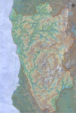 map of Klamath-Siskiyous