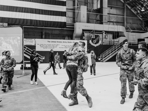 Fort Bragg, North Carolina Photographer, Homecoming, Military Photographer, Aim True Photography