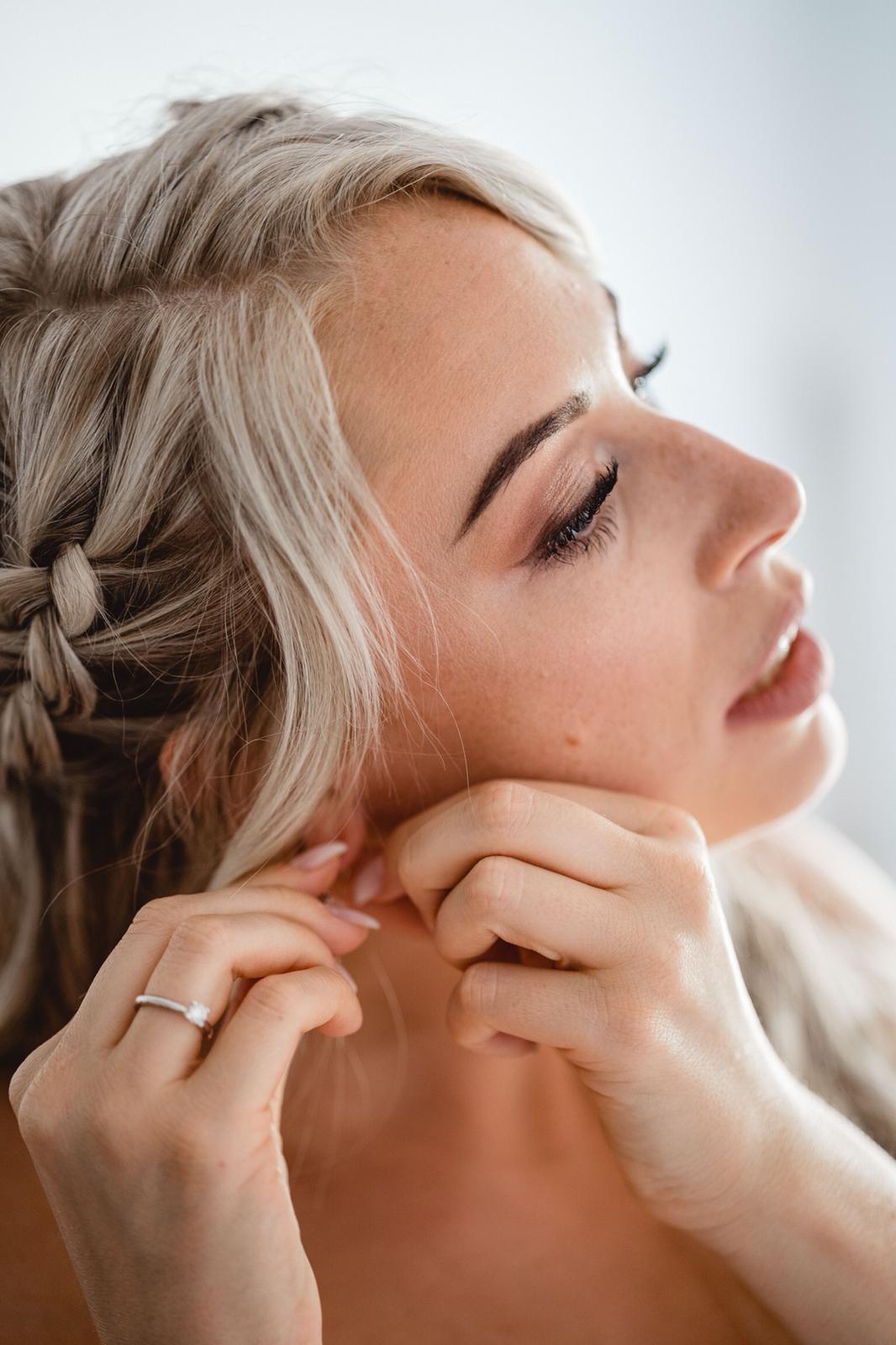 Braut Make-up Jennifer
