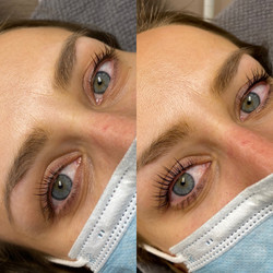 Wimpernlifting 1