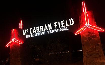 Spotlight Film Productions Mc Carran Field Neon Image