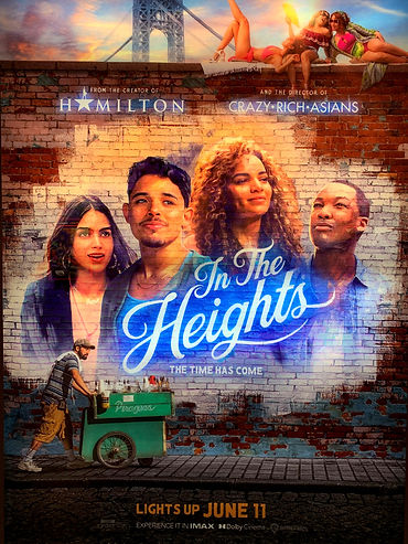 Spotlight Film Productions In The Heights Movie Theater Poster Image