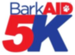 BarkAID 5K Run Logo Image