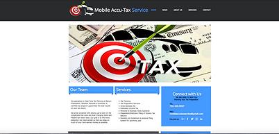 Spotlight Film Productions Website Design Moblie Accu-Tax Image