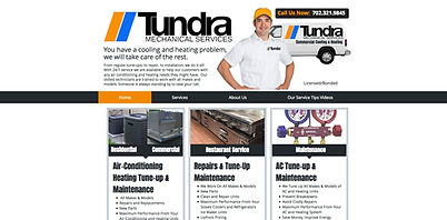 Spotlight Film Productions Web Site Design Tundra Mechanical Services Image