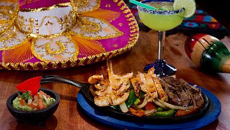 Casa Don Juan Mexican Restaurant Las Vegas Shrimp Chicken and Steak Fajitas Image