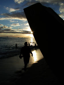 Spotlight Film Productions Hawaii Beach Sunset Image