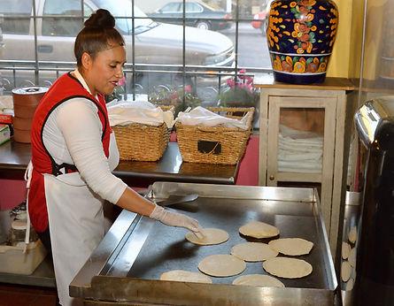 Casa Don Juan Mexican Restaurant Las Vegas Tortilla Making Image