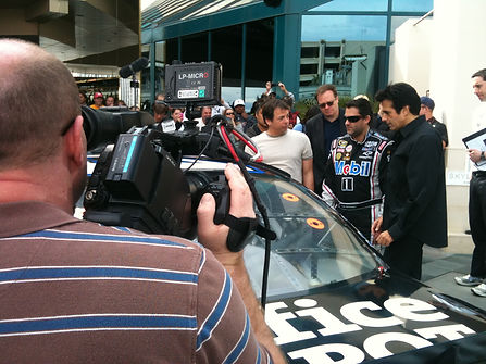Spotlight Film Productions David Copperfield and Tony Stewart Image