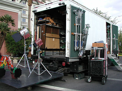 Spotlight Film Productions 5 Ton Lighting and Grip Truck Image