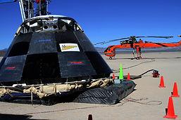 Spotlight Film Productions Space Capsule in the Nevada Desert Image