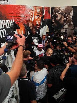 Spotlight Film Productions Mayweather Fight Press Conference