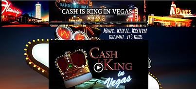 Spotlight Film Productions Web Site Design Cash is King in Vegas Image