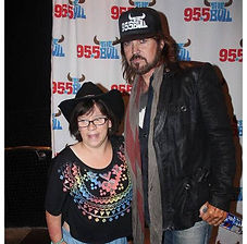 Country Singers Concert Venue The Voice Goes Country with Billy Ray Cyrus and Ashley Steward At Billy Ray Cyrus 25th Anniversary Concert Image