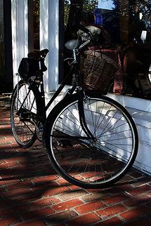 Spotlight Film Productions Bicycle on a sidewalk on Martha's Vineyard Cape Cod image