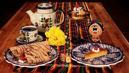 Casa Don Juan Mexican Restaurant Las Vegas Pastel Tres Chocolates, Fried Ice Cream, Flan Napolitano Desserts Image