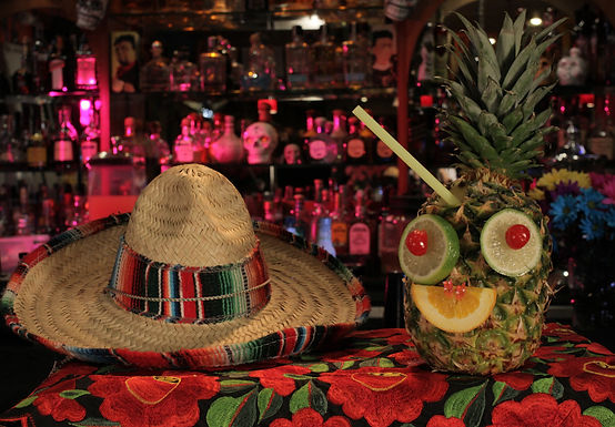 Casa Don Juan Mexican Restaurant Las Vegas Pineapple Pina Colada Image