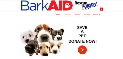 Spotlight Film Productions Web Site Design BarkAID Rescue Angry Image