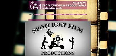Spotlight Film Productions Web Site Design Spotlight Film Productions Image