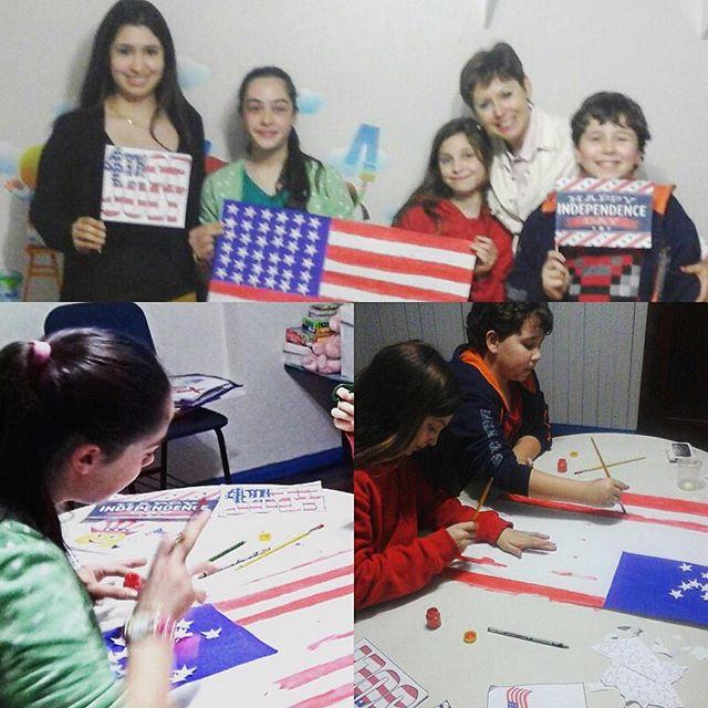 Atividades #4thofjuly na unidade _cipexsarandi 🗽🎉🌭🇺🇸🗽🎈 #unitedstates #independenceday #4th