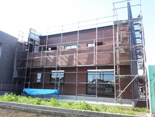 2014-06-19 水戸市・O様邸の外壁工事終了