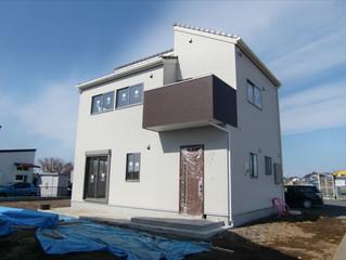 2014-02-22 東海村・S様邸完成間近