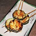 Grilled Zuchinni Skewers