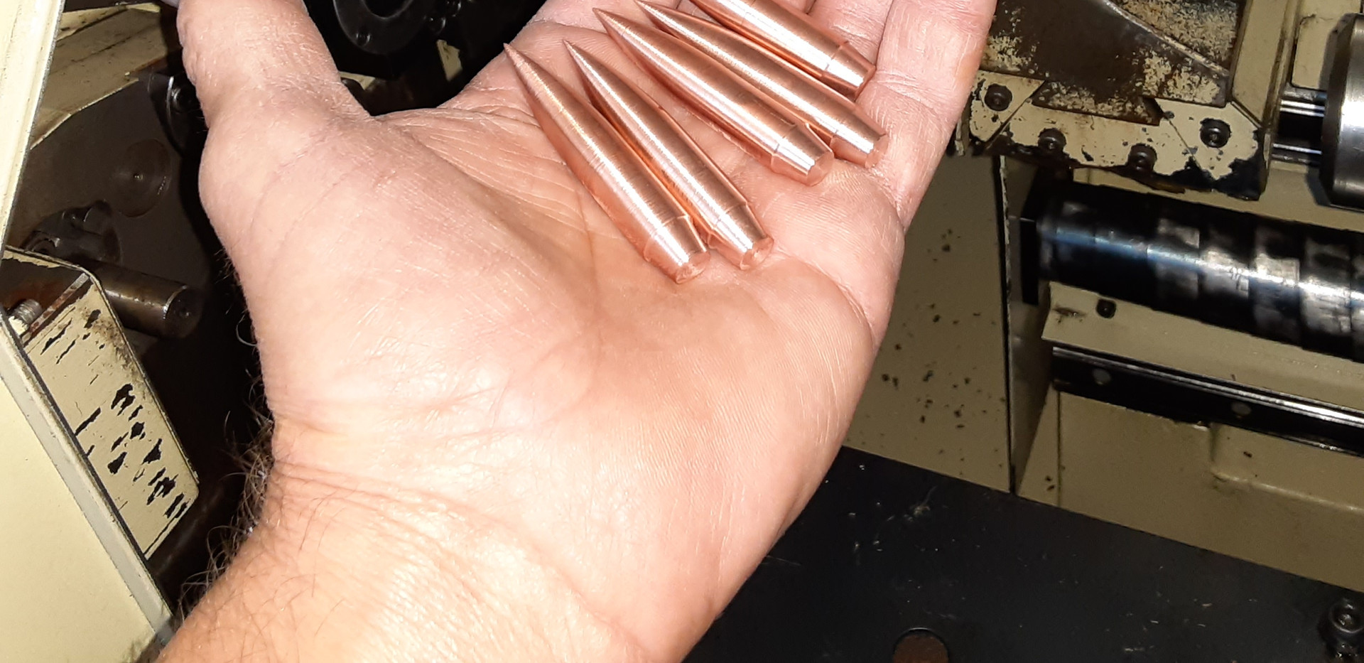 BULLETS  COMING OFF STAR